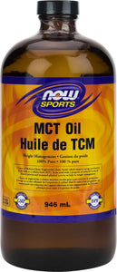 MCT Oil 100% pure (glass) 946mL