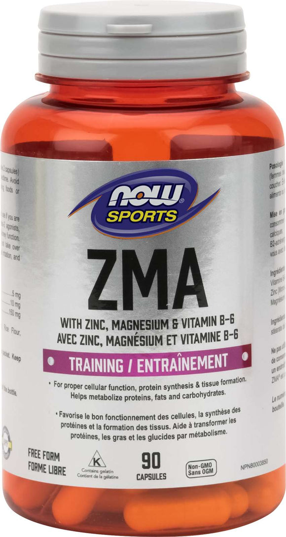 ZMA 800mg with Zinc, Mg, B-6  90cap