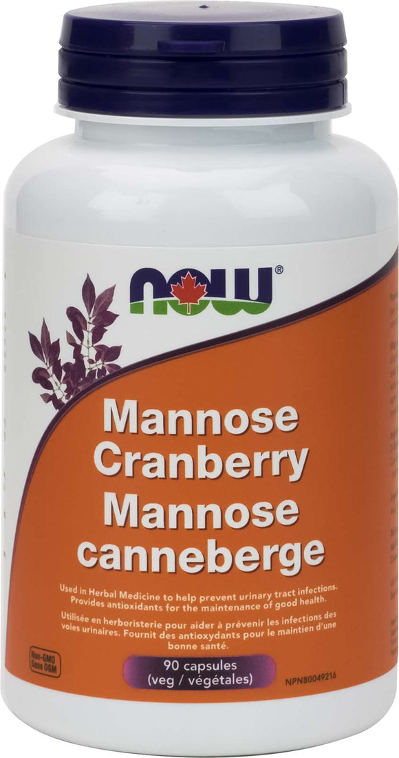 Mannose Cranberry 450mg / 250mg 90vcap