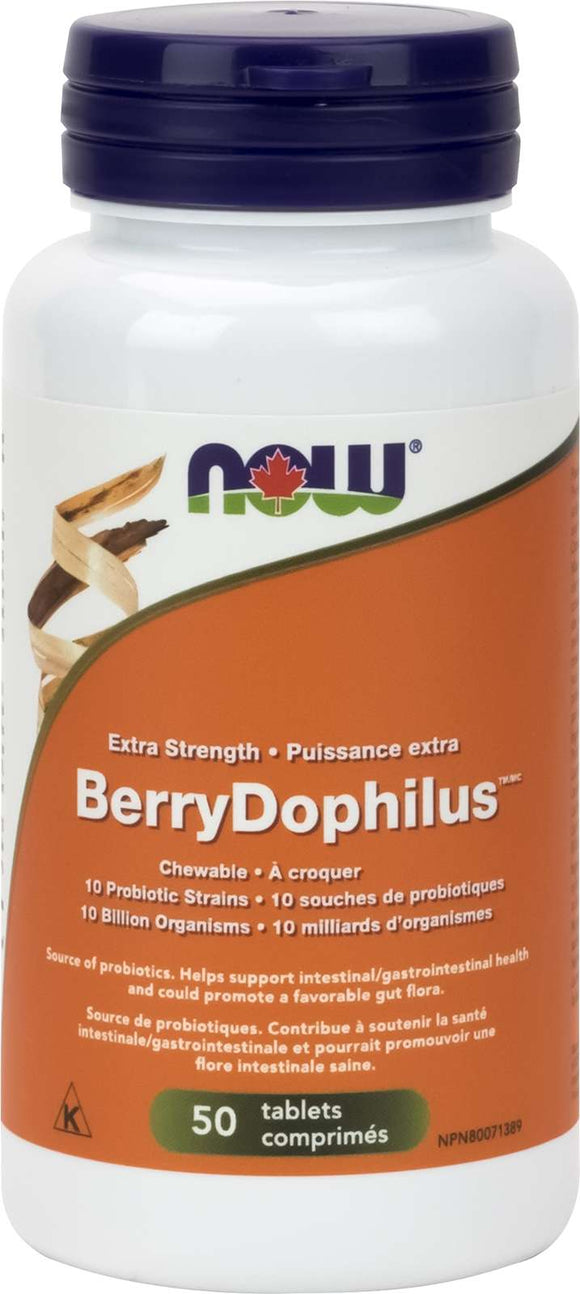 BerryDophilus Ext Strength 10 Billion 50chew (RR) (DF)