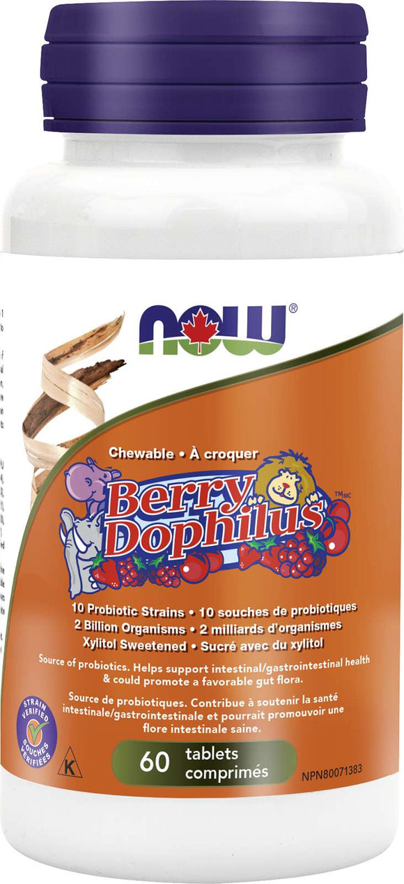 BerryDophilus 2.5 Billion 60chew (RR) (DF)