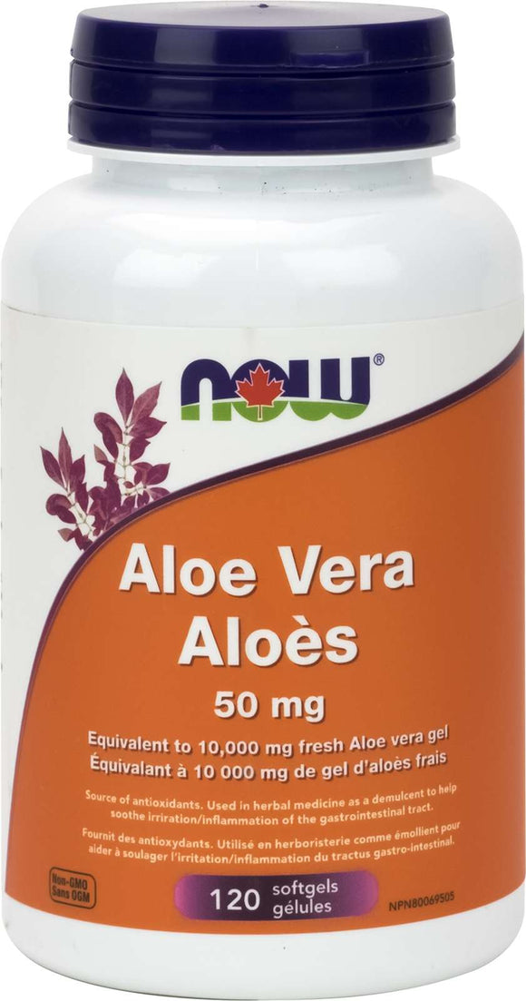 Aloe Vera Concentrate 50mg 120gel
