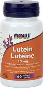 Lutein 10mg (from Lutein Esters) 60gel
