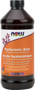Hyaluronic Acid Liquid w/antioxidants 473mL