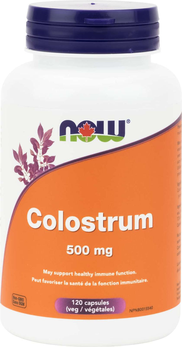 Colostrum 500mg 25% IgG 120vcap