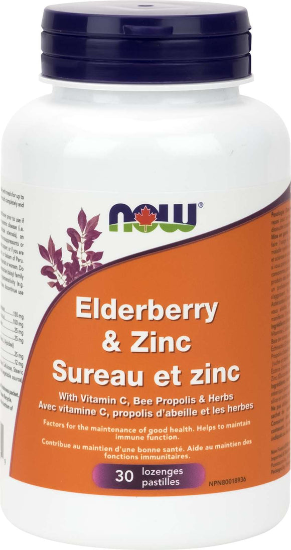 Elderberry and Zinc Lozenges 30Loz