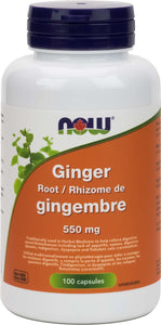 Ginger Root  550mg 100vcap