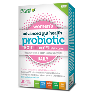 Genuine Health Advanced Gut Health Probiotic Women's DAILY 30s