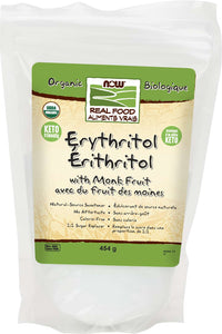Organic Erythritol and Org Monk Fruit 454g