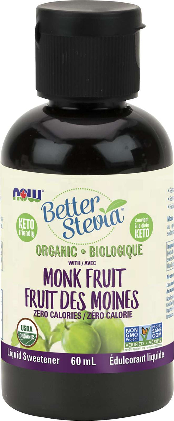 Organic Stevia and Org Monk Fruit 60mL
