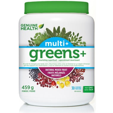 Genuine Health Greens+ Multi+ Mixed fruit 459g