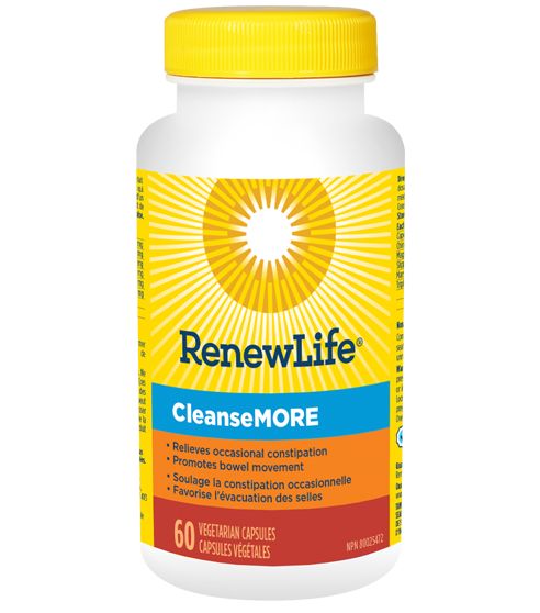RenewLife CleanseMORE - sold out until March 2021!  We HIGHLY recommend Healthology GoLax as a substitute.  The ingredients are almost identical.