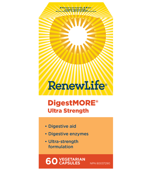 RenewLife DigestMORE Ultra Strength 60's