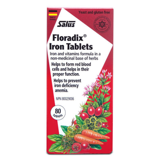 Floradix® Iron Tablets 120s