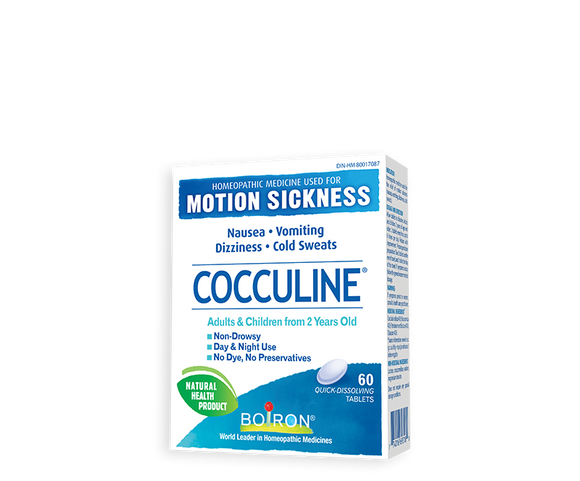 Cocculine Motion Sickness