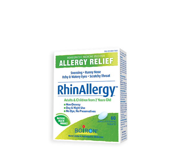 RhinAllergy Allergy Homeopathic