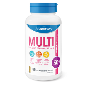 Progressive Multivitamin Women 50+ 120's