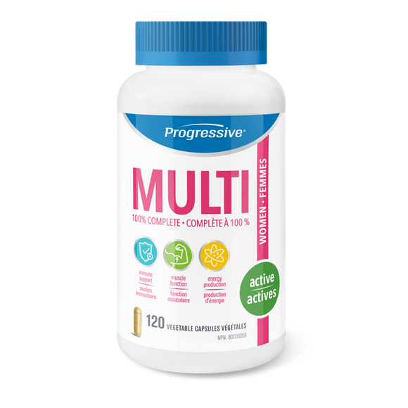 Progressive Multivitamin Active Women 120's