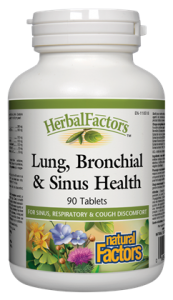 Lung, Bronchial & Sinus Health, HerbalFactors®