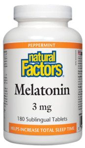 Melatonin 3 mg, Peppermint