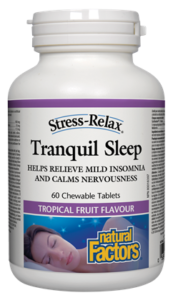 Tranquil Sleep®, Tropical Fruit Flavour, Stress-Relax®