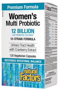 Women's Multi Probiotic with CranRich 12 Billion Live Probiotic Cultures 120's