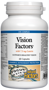 Vision Factors® with 7.5 mg Lutein