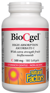 BioCgel™ High Absorption Ascorbate C 500 mg BONUS 210'S