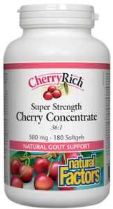 CherryRich® Super Strength Cherry Concentrate 500 mg 180's