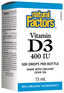 Vitamin D3 Drops 400 IU