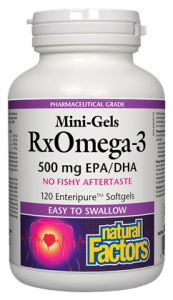 RxOmega-3 Mini-Gels 500 mg 120's
