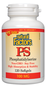 PS Phosphatidylserine 100 mg 60's