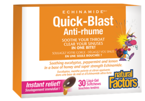 Natural Factors Quick-Blast, ECHINAMIDE®