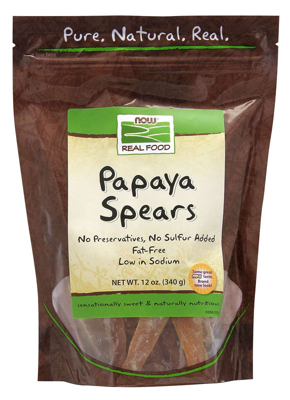 Papaya Spears Dried 340g