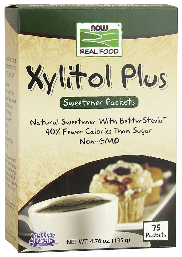 Xylitol Plus (Xylitol / Stevia) 75 Packets
