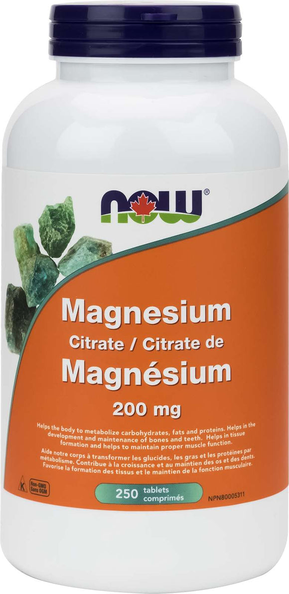 Magnesium Citrate 200mg 250tab