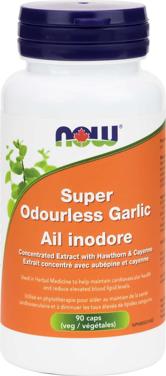 Super Odourless Garlic 90vcap