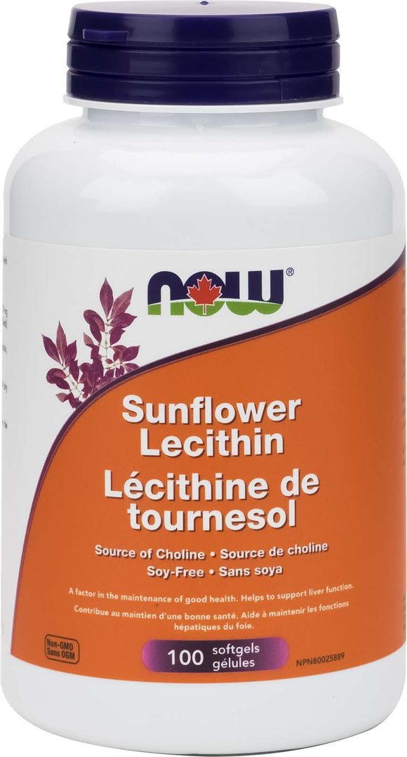 Sunflower Lecithin 1200mg Non-GMO 100gel