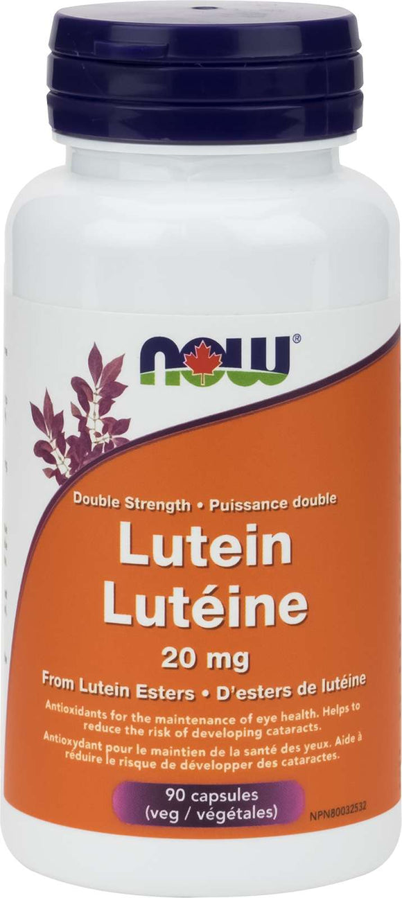 Lutein 20mg (from Lutein Esters) 90vcap