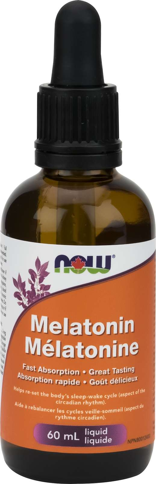 Melatonin Liquid (3mg / 1mL drop) Vanilla-Citrus 59mL