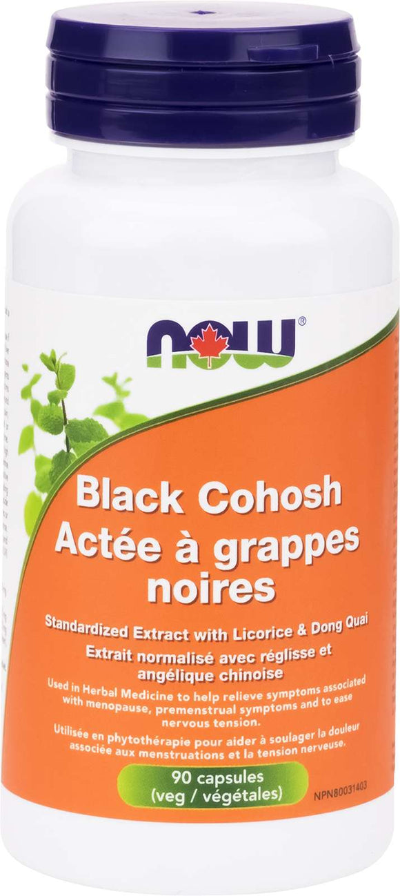 Black Cohosh 2.5% Ext 80mg 90vcap