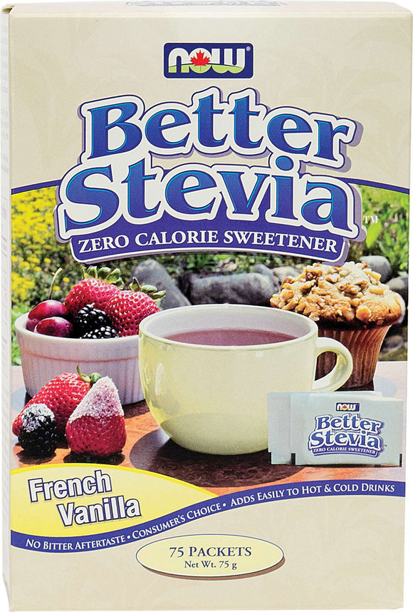 Stevia Extract Packets (Fr. Vanilla) 1g*75