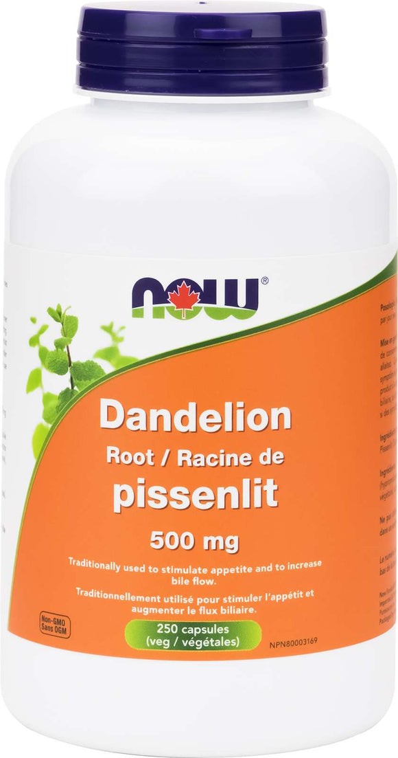 Dandelion Root 500mg 250vcap