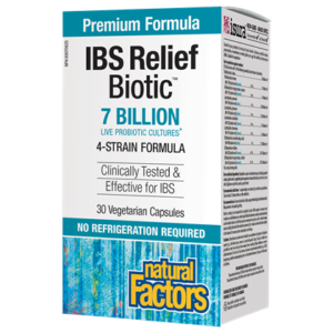 IBS Relief Biotic® 7 Billion Live Probiotic Cultures 30's