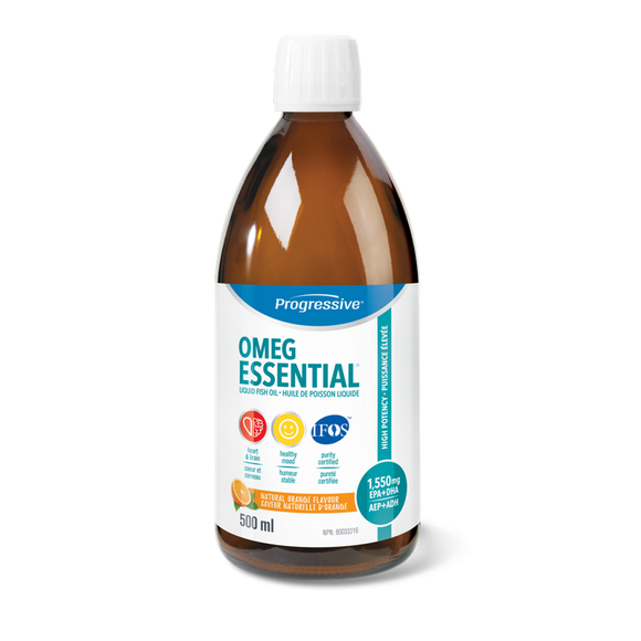Progressive OmegEssentials Fish Oil 200ml