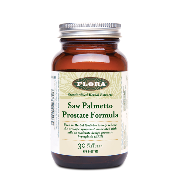 Flora Saw Palmetto Prostate Formula Plus 60's