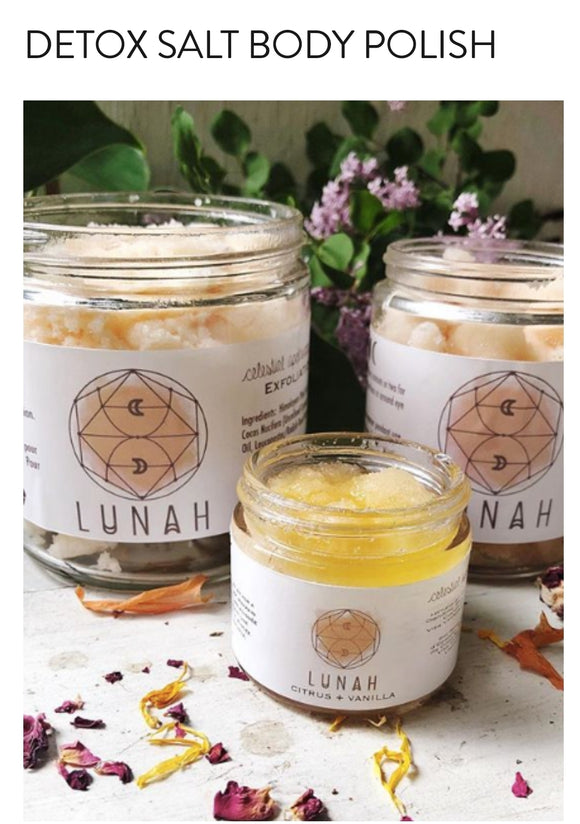 Lunah Life Salt Body Detox Polish