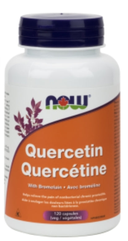 NOW Quercetin with Bromelain 120's