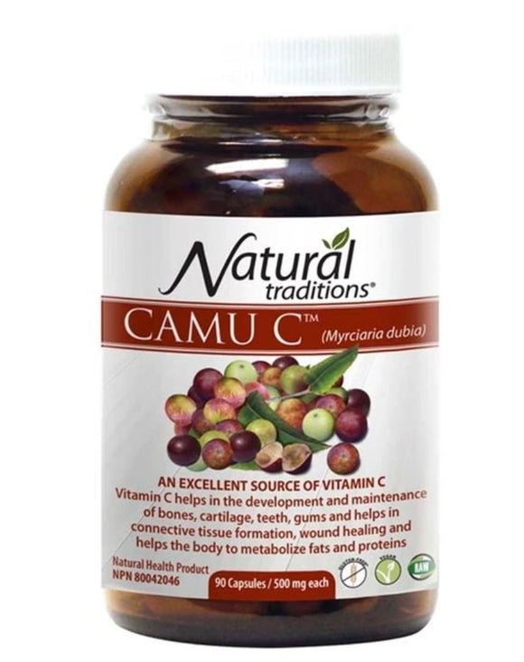 Organic Traditions Camu C 90 caps