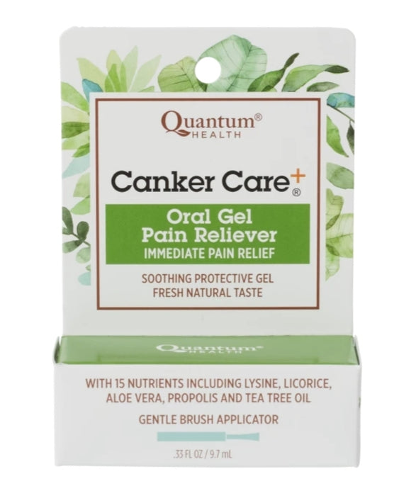 Quantum Canker Care Oral Pain Reliever gel 9.7ml